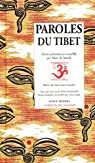 Paroles du Tibet par de Smedt