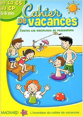 cahier de vacances 6 ans