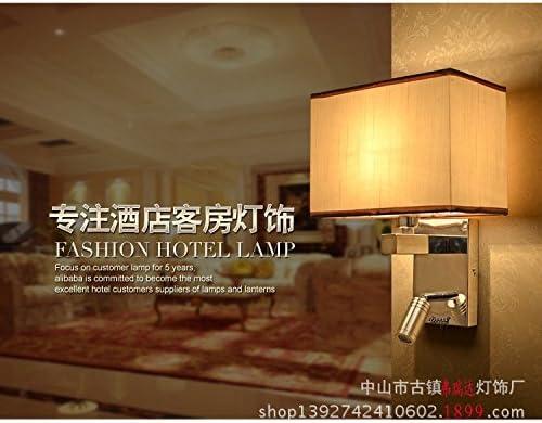 ZhuoYuan moderna Lámpara de pared Lámparas de pared salón TV apliques de luz de cabecera habitaciones dormitorio apliques de interruptor de luz: Amazon.es: Iluminación