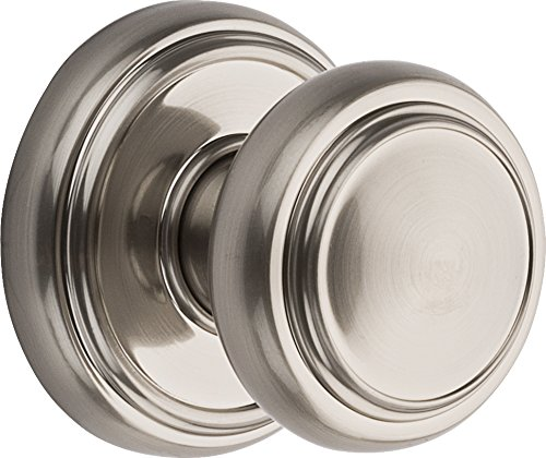 Baldwin Prestige Alcott Hall/Closet Knob in Satin (Baldwin Door)