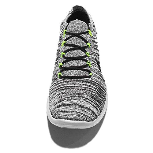 Flyknit Nike Blanco Hombres Rn Movimiento Libre Blanco Nike / Negrovoltios De 6a18d3