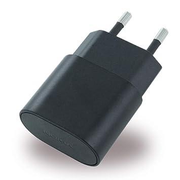 Nokia AC-50 - Cargador USB de móvil, negro