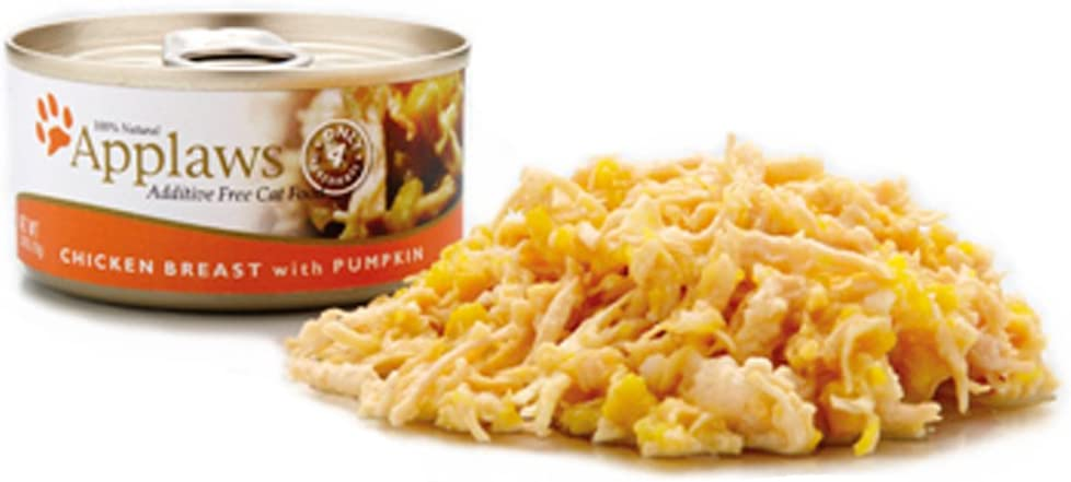 Applaws Chicken Breast And Pumpkin, 24 - 2.47-Ounce Cans For Cats