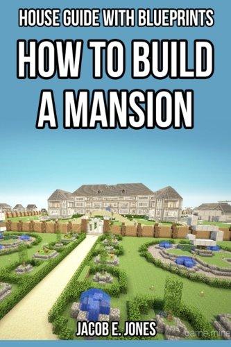 minecraft mansion blueprints step by step