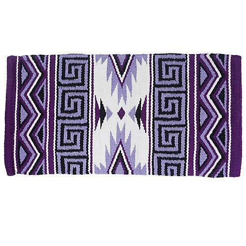 Tough 1 Mayan Navajo Wool Saddle Blanket Purple by Tough 1 (Image #1)