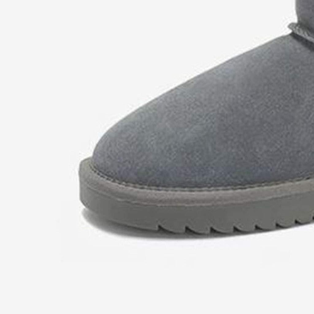 Sport- & Outdoorschuhe Schneestiefel Dicke warme Freizeitschuhe Freizeitschuhe warme Bequeme Flache Ferse Schuhe Wasserdichte Rutschfeste Schuhe Schuhe & Handtaschen (Farbe   Braun, Größe   39) fcb947
