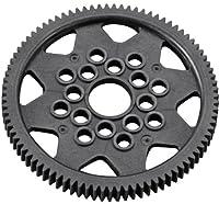HPI Racing 6987 Spur Gear 48P, Carbon Fiber, 87T