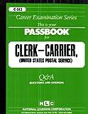 Clerk-Carrier (U. S. P. S. ), Jack Rudman, 0837301432