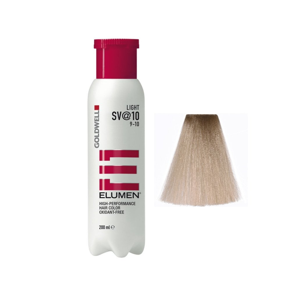Goldwell Elumen Light Haarfarbe 10 SV, 1er Pack, (1x 200 ml) 4021609108719