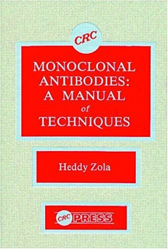 Monoclonal Antibodies  A Manual Of Techniques