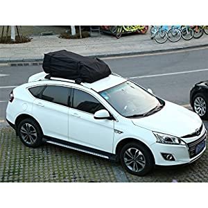YKS Roof Top Cargo Bag,Cross Country Soft Car Top Cargo Carrier best for Traveling (15 Cubic Feet)