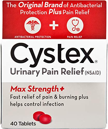 Cystex Urinary Pain Relief Tablets, 40 Count