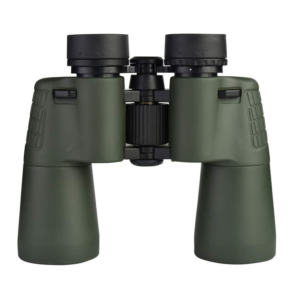 Glamsville Beileshi Outdoor Hunting 10X50 HD Folding Wide Angle Optical Binocular Telescope Green by Glamsville
