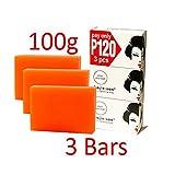 1 Kojie San Skin Lightening Kojic Acid Soap 3 Bars - 100g