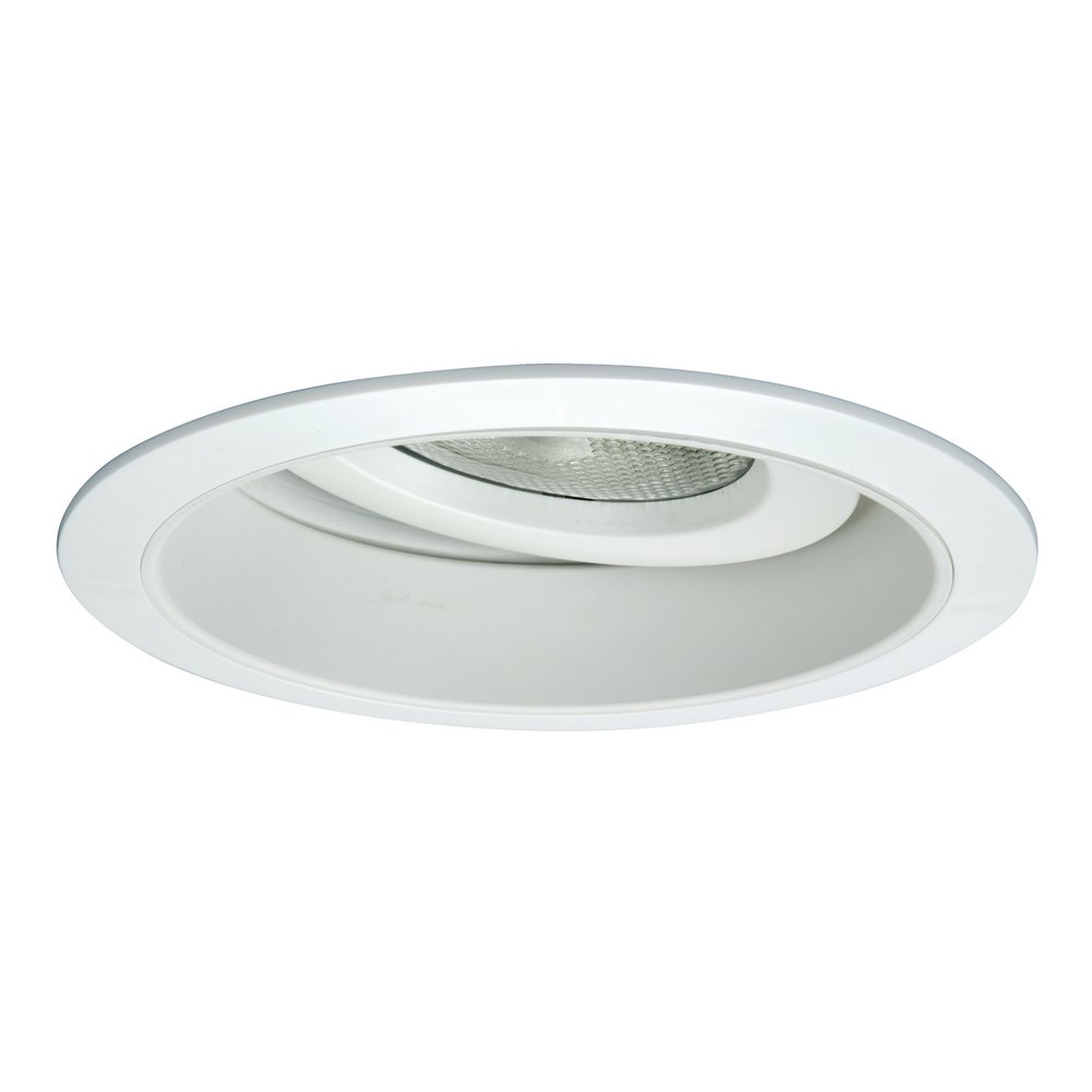 Halo Recessed 378P 6-Inch PAR30 Adjustable Trim with Splay, White