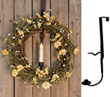 Heart of America Wreath & Candle Holder