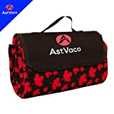 Astvaco Mat Beach Outdoor Water Resistant Handy Mat Picnic Blanket- Multipurpose Soft Practical and Elegant Design- Ideal for Beach Mat, Picnic, Concert, Camping, Park- Portable and Easy to Clean