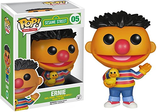 (Funko POP TV: Sesame Street Ernie Action Figure)
