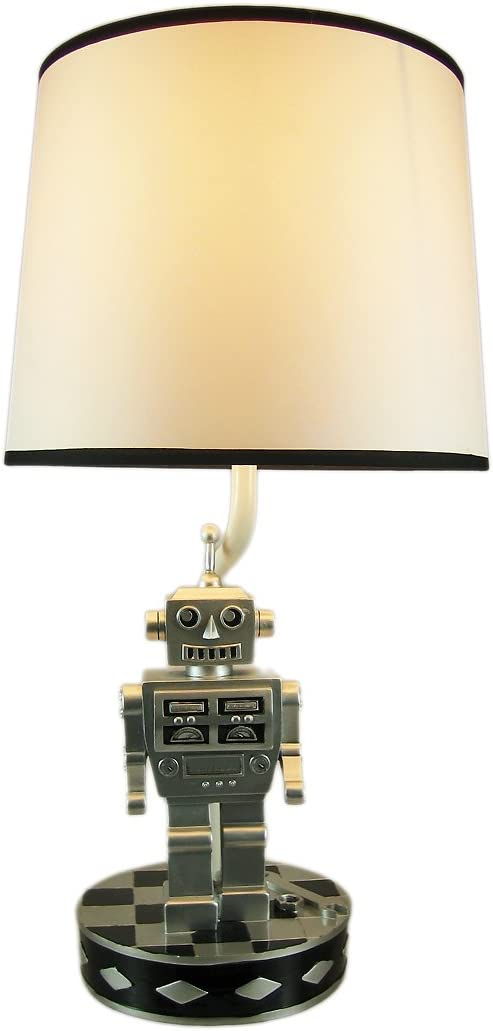 Lamps Retro 60`S Style Robot Table Lamp