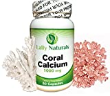 Coral Calcium Plus Vitamin D3 ★ 1000 mg ★ (60 capsules) ★ Natural Antioxidants ★ Bone Health ★ Providing naturally-occurring Ionic forms of Absorbable Calcium, Magnesium and all Trace Minerals Review