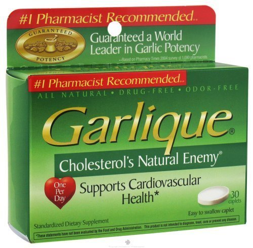 Garlique cholestérols Natural Enemy Tablets - 30 ch (3 pack)