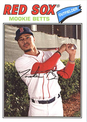 Galleon 2018 Topps Archives 105 Mookie Betts Boston Red