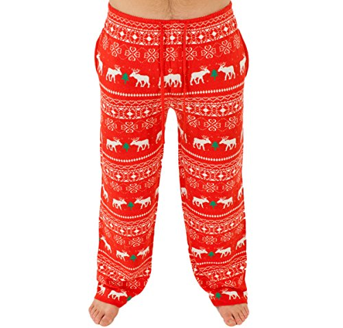 Reindeer Holiday Sweater Pants
