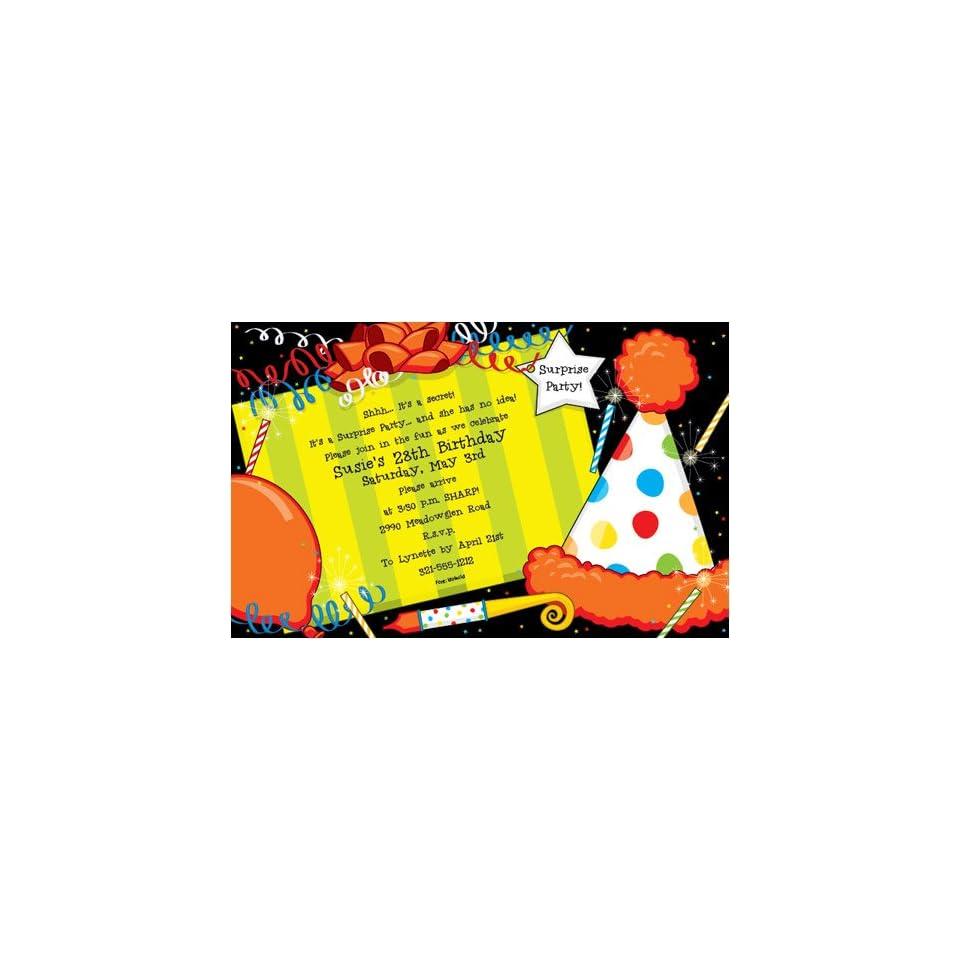 Birthday Present Invitation
