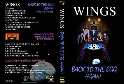 Paul McCartney & Wings - Back To The Egg (Again): Amazon co
