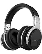 Meidong E7B Active Noise Cancelling Headphones Bluetooth Headphones with Microphone Wireless Headphones over Ear HIFI Stereo Deep Bass 30H Playtime (2019 Upgrade)