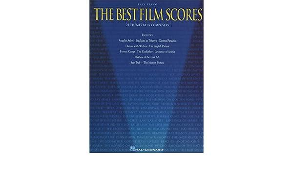 The Best Film Scores (Easy Piano (Hal Leonard)): Hal Leonard
