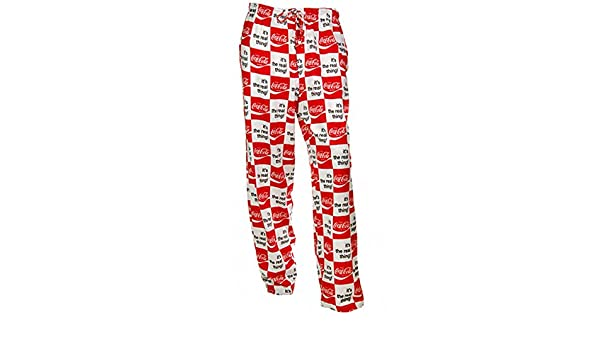 596e61fdf647c COKE Coca Cola It s the Real Thing Lounge Sleep Bottom Pajamas Pants  Sleepwear (X-Small) at Amazon Men s Clothing store