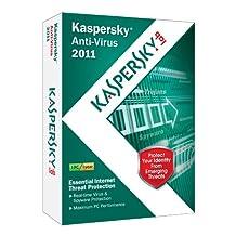 Kaspersky Anti-Virus 2011 (1-User)