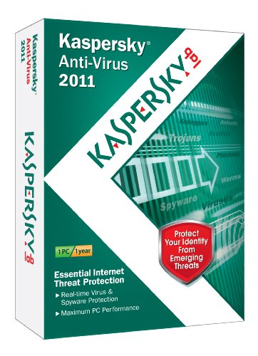 Kaspersky Anti-Virus 2011 1-User [Old Version]