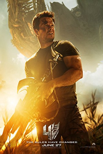 TRANSFORMERS AGE OF EXTINCTION MOVIE POSTER 2 Sided ORIGINAL Ver C 27x40 ()