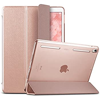 ESR iPad Pro 10.5 Case, Smart Case Cover with Auto Wake Sleep Function [Soft TPU Bumper Edge Corner Protection] [Easy to Take on/off] for Apple iPad Pro 10.5-inch(Rose Gold)