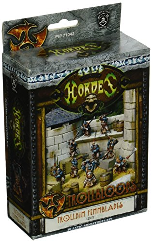 Privateer Press - Hordes - Trollblood: Fennblades (Plastic) Model Kit 3