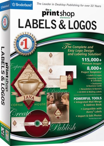 The Print Shop Elements: Labels, Logos & More