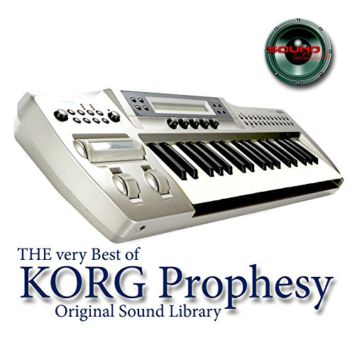 KORG PROPHESY - Large Sound Library - Original Samples in WAVEs format on DVD or for -