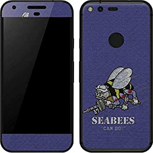 US Navy Google Pixel XL Skin - Seabees Can Do Vinyl Decal Skin For Your Pixel XL by Skinit