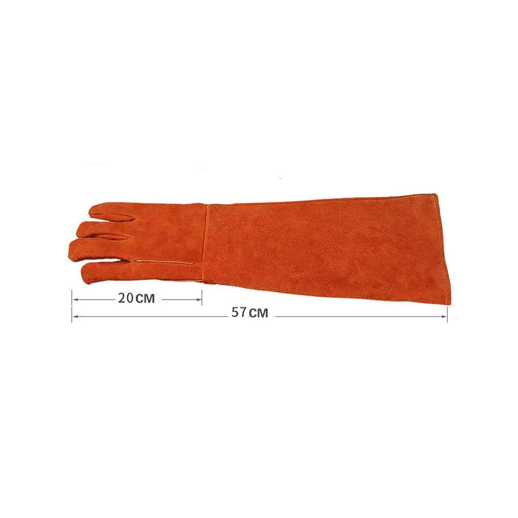 YYTLST High Temperature Resistant Gloves, Abrasion Resistant, High Temperature Resistant, Heat Resistant, Suitable for Processing and Polishing (Color : B) by YYTLST