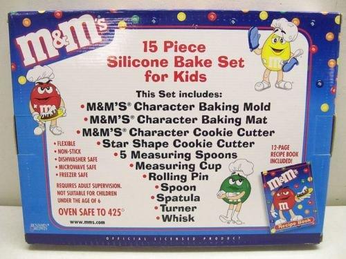 M&M's 15 Piece Silicone Bake Set