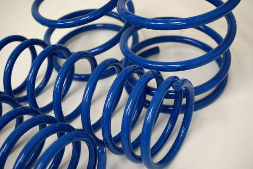 TuningPros LS-067v2-B Lowering Springs Kit Blue Set of 4
