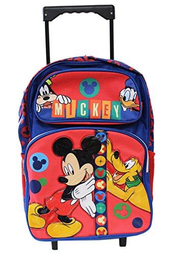 Disney Mickey Friends Rolling Backpack