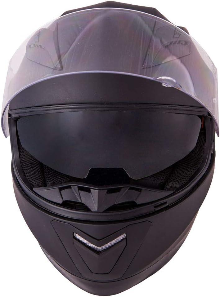 Vinz Integralhelm//Rollerhelm 53-54 cm Motorradhelm in Gr S-XL , Wei/ß XS Integral Helm mit Sonnenblende