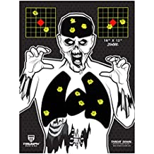 "Visual Vital Splatter Target   16"" X 12""   Adhesive Sticker Targets   Paper Target   Shooting Target   Target   Reactive Target   Shooting Accessories"