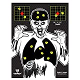 """zombie bb targets - Triumph Systems Visual Vital Zombie Splatter Target 