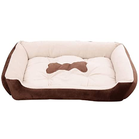 SCDCWW Animal Luxury Dog Bed - Tumbona de Cama con Memoria ...