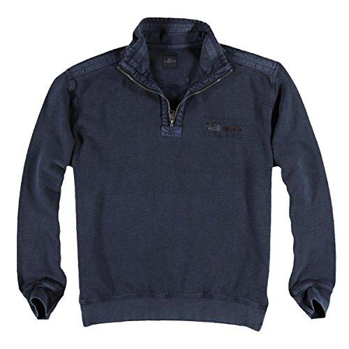 engbers Herren Sweatshirt Stehbund, 23871, Blau