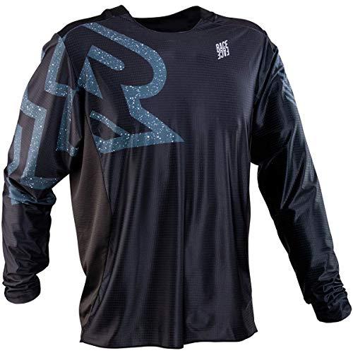 RaceFace Ruxton Long-Sleeve Jersey - Men's Black, XL